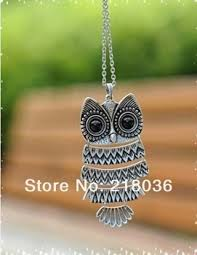 necklace with owl pendant images Cheap silver owl jewelry find silver owl jewelry deals on line at jpg