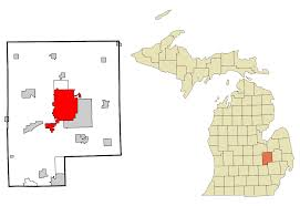 Flint Michigan Map File Genesee County Michigan Incorporated And Unincorporated Areas