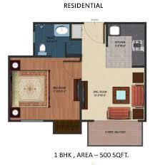 Floor Plan For 600 Sq Ft Apartment Interesting Apartment Floor Plans 600 Sq Ft Intended Design