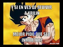 Goku Memes - memes de dragon ball z que te har磧n re祗r si eres fan dragon ball