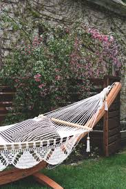 arc stand with nicaraguan hammock deuce cities henhouse garden