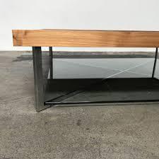 coffee table ligne roset walnut ponton low coffee table los