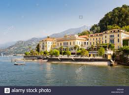 grand hotel villa serbelloni bellagio lake como italy stock