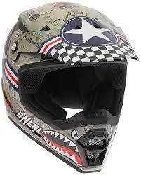 o neal motocross gear 0618w 011 oneal 5 series wingman motocross helmet xs metal white