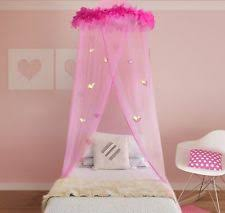 Pink Canopy Bed Bed Canopy Ebay