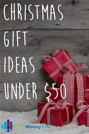 25 christmas gift ideas under 50