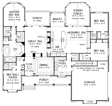 house plan with two master suites hollybridge one home plan 058d 0016 house plans and more