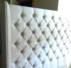 tufted beige king size upholstered headboard allin1 brown queen
