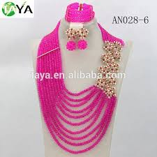 beaded necklace styles images Newest costume african jewelry set crystal beads jewelry set jpg