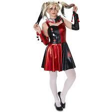 Harlequin Halloween Costume Evil Harlequin Teen Halloween Costume Walmart