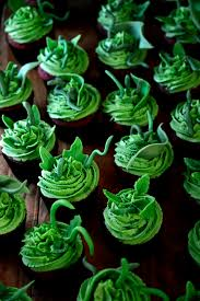 little shop of horrors cupcakes from the kitchen red velvet with