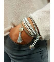silver leather wrap bracelet images Boho betty orion silver leather 2 wrap bracelet sophisticato jpg