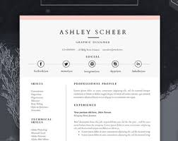 free word resume templates resume template for ms word cv template with free by havindesign