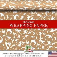 custom christmas wrapping paper 57 best wrapping paper images on wrapping papers gift