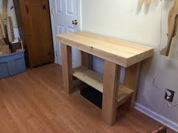 Woodworking Bench Top Surface by Workbench Logan Cabinet Shoppe