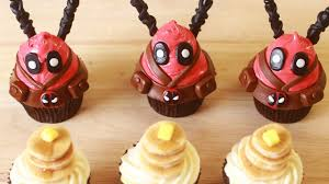 how to make deadpool cupcakes nerdy nummies youtube