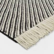 black white chevron area rug project 62 target