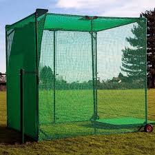 folding golf cage nets golf practise cage net world sports