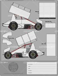 sprint car template srgfx com