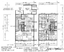 Multiplex Floor Plans Floorm4b1 Jpg