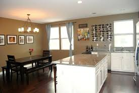 Open Concept Kitchen Living Room Small Space Open Concept Kitchen And Living Room Pinterest Open Concept