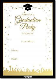 high school invitations 2018 graduation party invitations with envelopes 30