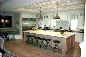 Kitchen Islands Seating Big Kitchen Islands Best Large Island Ideas On For Designs Big