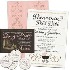 Baby Shower Instead Of A Card Bring A Book Invitations