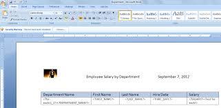 obiee practicals creating reports using rtf template in bi