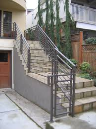 Stair Banisters And Railings Ideas Stairs Extraordinary Exterior Stair Railing Outdoor Stair Railing