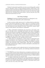 1 overview findings and recommendations technology policy