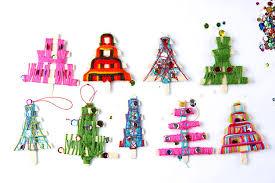 ornaments yarn trees babble dabble do