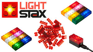 light stax power base light stax toy bricks meet led by arno fluitman kickstarter