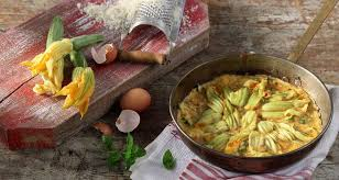 courgette cuisine courgette and courgette flower frittata recipe akis petretzikis