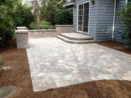 paver patio edging interior unilock steps installation unilock concrete pavers
