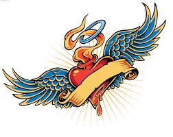 free heart tattoo designs free download clip art free clip art