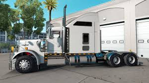 kenworth heavy haul trucks w900 for american truck simulator