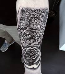 50 cheetah tattoos for big spotted cat design ideas