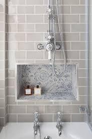 Gray Subway Tile Bathroom by Interior Design Ideas B A T H R O O M Pinterest Interiors