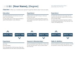 Timeline Resume Template resume timeline office templates