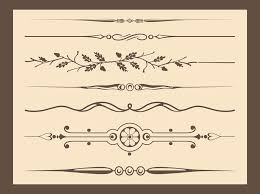 antique vector ornaments vector graphics freevector