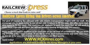 Home Depot Houston Tx 77001 Railcrew Xpress Railroad Crew Transportation Transportation