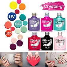 crystal g nails london uv led soak off art varnish gel nail