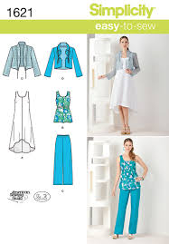 simplicity 1621 misses u0027 u0026 plus size dress u0026 separates