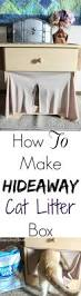 how to make hideaway cat litter box budget savvy diva