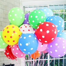 polka dot balloons 10 20pcs polka dot balloons party wedding birthday