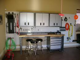 image best garage design ideas man cave delightful garage design ideas with table also black bar stool plus white shelves
