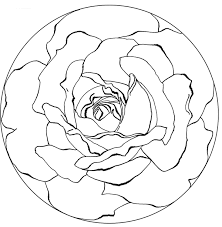ideas collection printable mandala drawing template in description