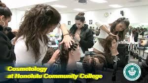 cosmetology at honolulu community college youtube