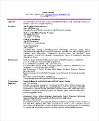 Telemetry Nurse Resume Sample by Telemetry Nursing Resume Samples Loses Advice Cf